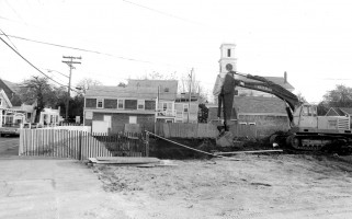 Foundation being dug at HIgh Wheeler Square,1989. FILE PHOTO  (photo: )