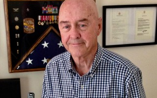 Brigadier General Jimmy Gordon Dishner, U.S. Air Force (Ret.), of Orleans. DEBRA LAWLESS PHOTO  (photo: Debra Lawless)