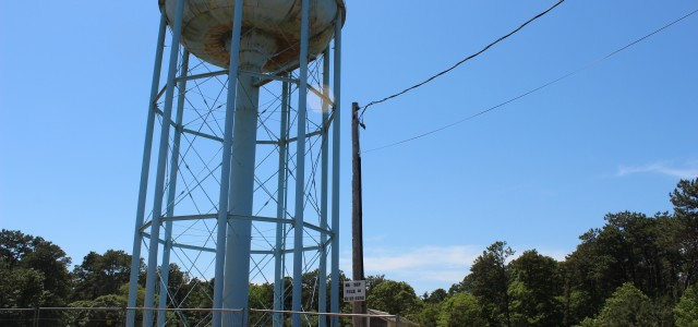 New Water Tank Construction Underway At Lothrop Ave  | Cape