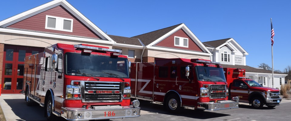 Chatham Fire Department Gets New Engines, Ambulance | Cape Cod Chronicle
