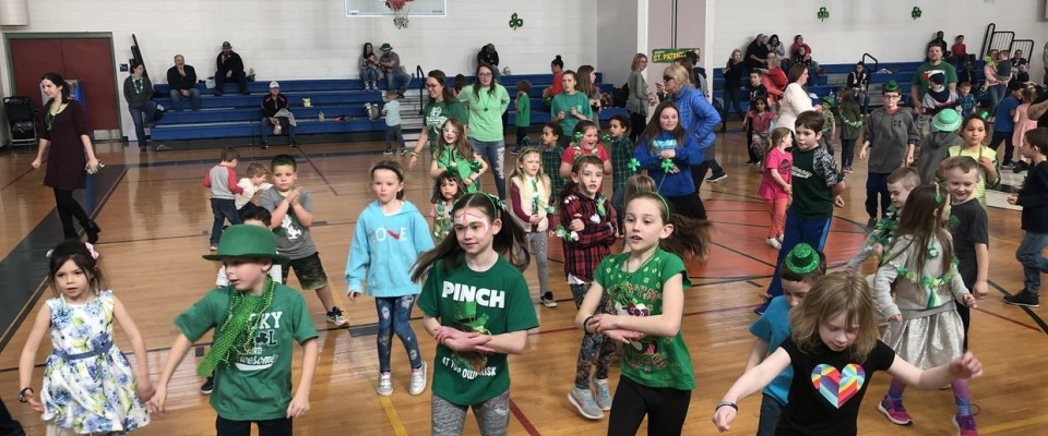 89c54483e11 The Harwich Elementary School PTO sponsored a Shamrock Shimmy over the St. Patrick's  Day weekend