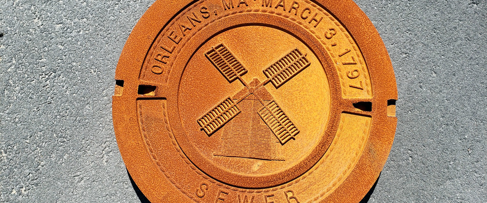Is it an 18th century coin? A special-edition Girl Scout cookie? No, it's the new design for sewer and drainage covers in Orleans, setting the community apart from others with more generic covers. COURTESY PHOTO  (photo: )