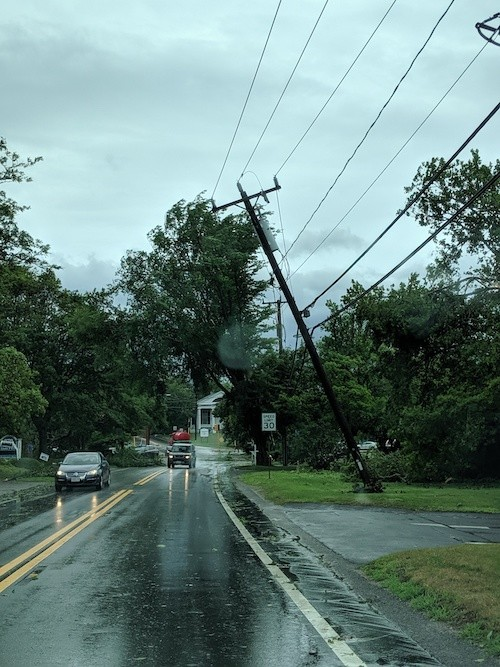 Main Street in Chatham looking toward the Crowell Road intersection. ALAN POLLOCK PHOTO